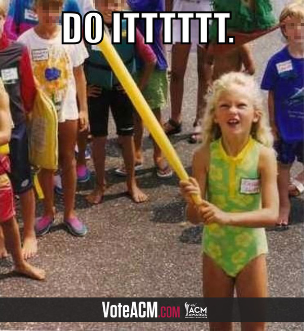 ACM voting for Entertainer of the Year has officially started: let 6-year-old me convince you.