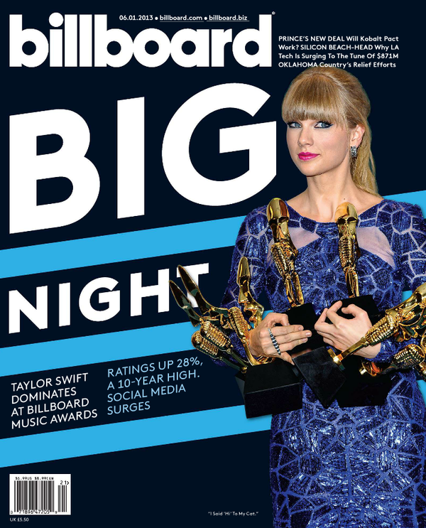 Billboard Magazine Cover