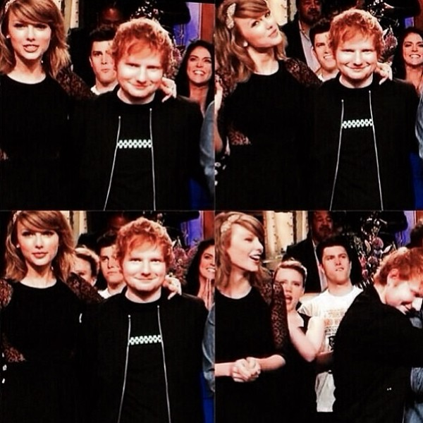 PROUD FRIEND ALERT. Ed Sheeran