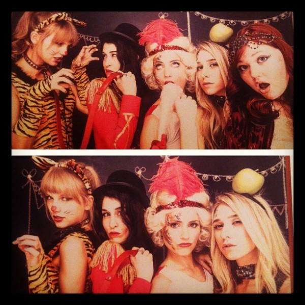The most magical night at Dianna Agron's circus themed birthday party!