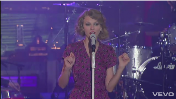 Speak Now (Live on Letterman)