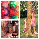 Easter-ness with Claire Callaway and Grant Mickelson.