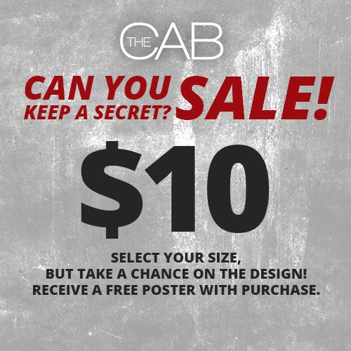 Can You Keep a Secret? Apparel Sale