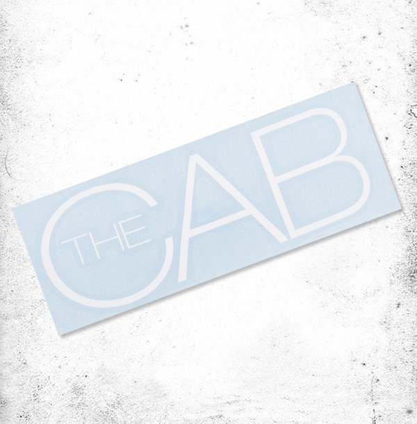 The Cab Die-Cut Decal
