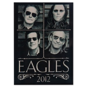 Eagles 2012 Tour Magnet