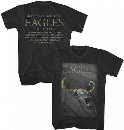 The Eagles  Tour Merchandise
