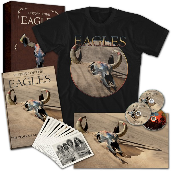 History Of The Eagles Limited Edition Box Set T-Shirt Combo image