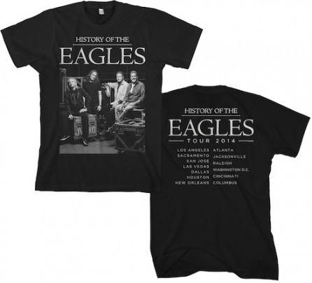 Eagles 2014 Tour Backstage Photo T-Shirt