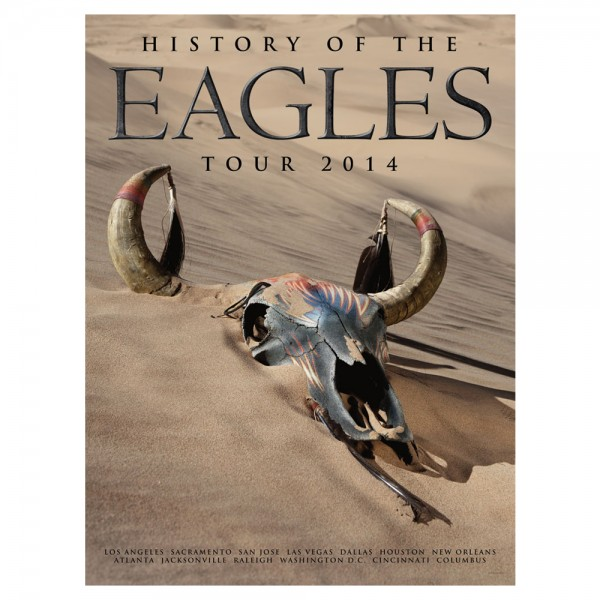 History of the Eagles Tour 2014 Lithograph image