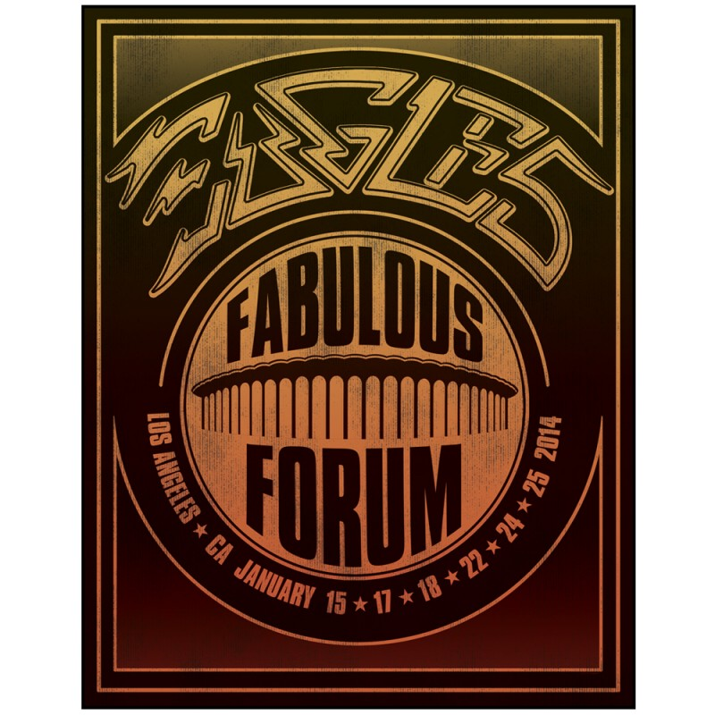 2014 The Fabulous Forum Poster