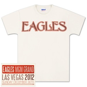 Eagles Vegas MGM Grand T-Shirt image