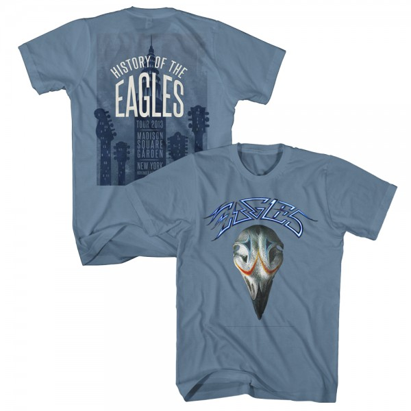 Madison Square Garden 2013 Eagles Greatest Hits T-Shirt