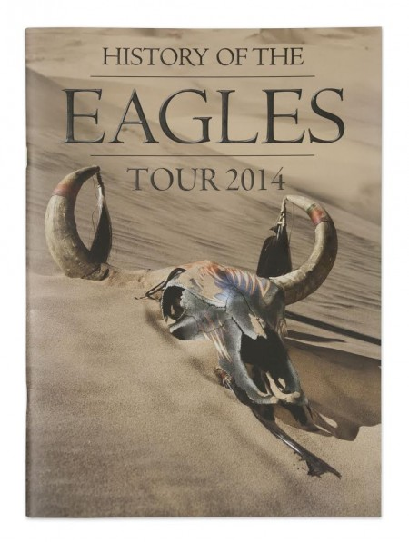 2014 History of the Eagles Tour Program