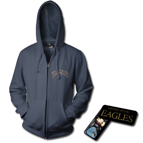 Navy Greatest Hits Zip Hoodie + Album Pick Set