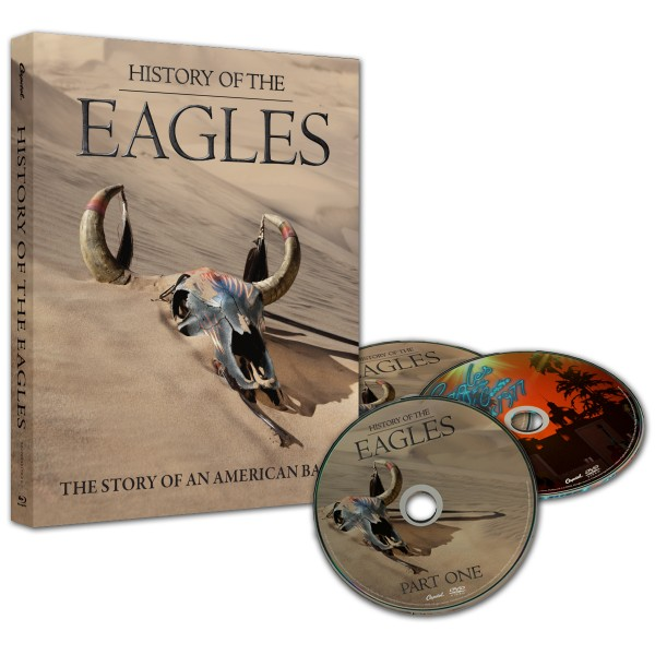 History Of The Eagles 3 Disc DVD Set image
