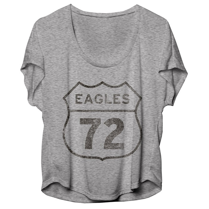 Eagles 72 Road Sign Womens Tee
