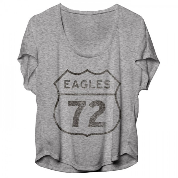 Eagles 72 Road Sign Womens Tee image