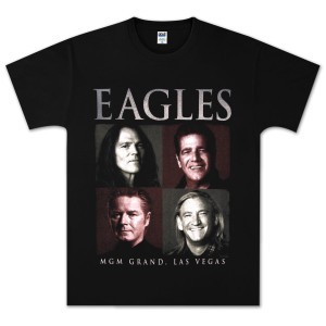 Eagles Vegas Photo Square T-shirt
