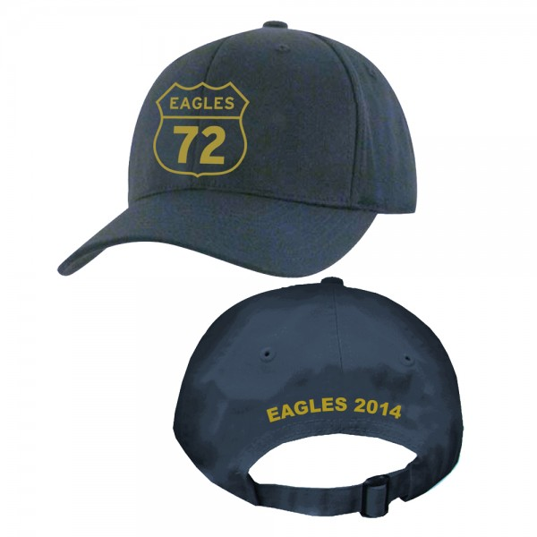 2014 Navy Eagles 72 Adjustable Tour Hat image