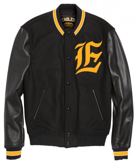 Eagles Tour 2013 Varsity Jacket image