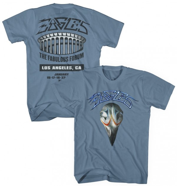The Fabulous Forum 2014 Eagles Greatest Hits T-Shirt