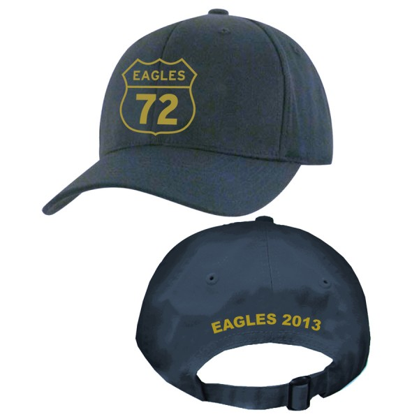 Navy Eagles 72 Adjustable Tour Hat image
