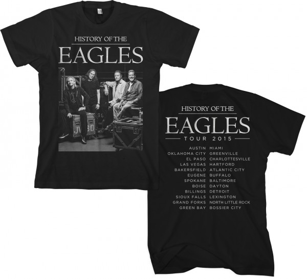 2015 Eagles Tour Backstage Photo T-Shirt
