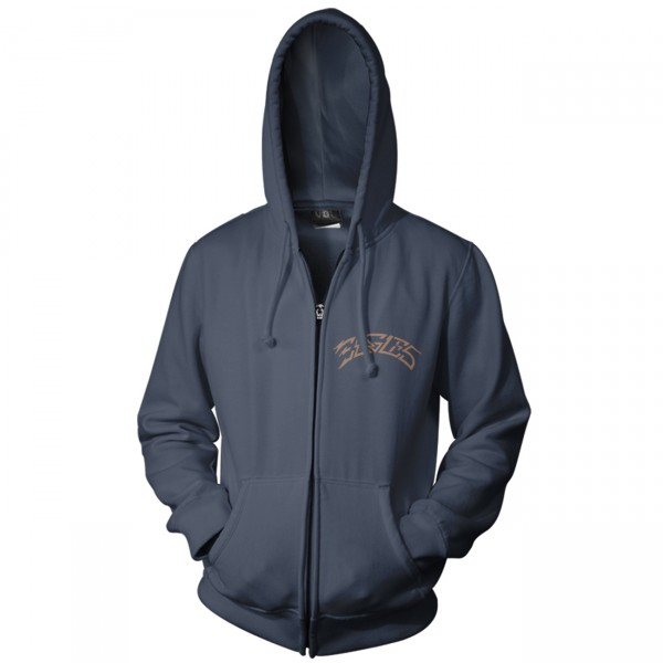 Navy Greatest Hits Zip Hoodie
