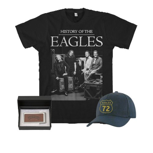 HOE Backstage T-Shirt + Money Clip + 72 Eagles Hat