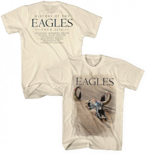 History of the Eagles Tour 2014 T-Shirt