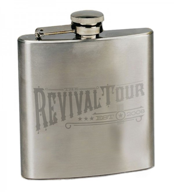 The Revival Tour 2013 Flask