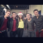 On Set with Big Time Rush