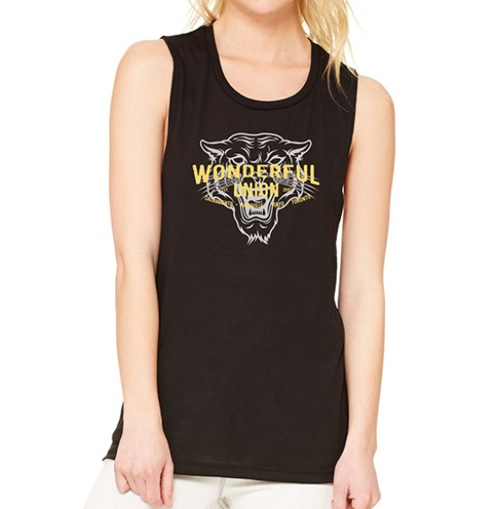 Black Tiger Tank Top