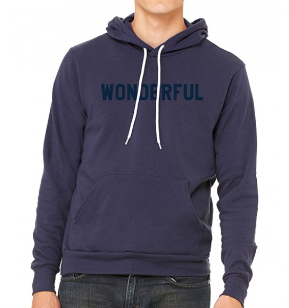 Blue Wonderful Hoodie