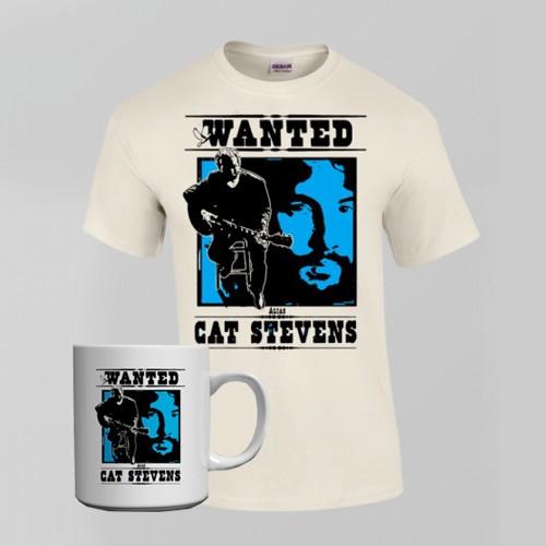 Wanted Mug + T-Shirt