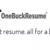 One Buck Resume avatar