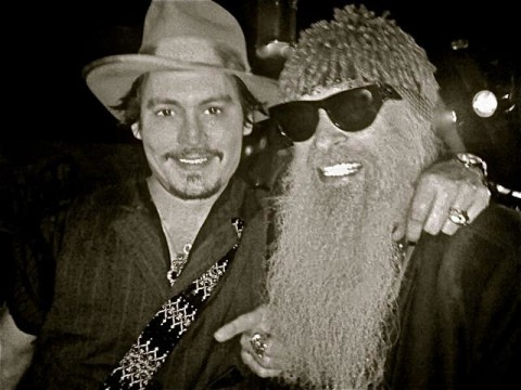 Billy and Johnny Depp