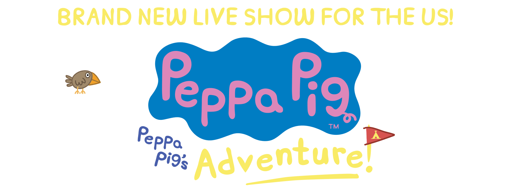 Brand new live show for the US! Peppa Pig's Adventure
